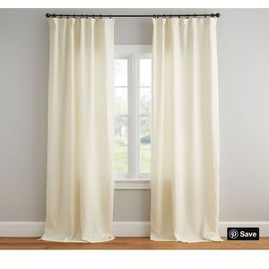 Pottery barn drapes set of 2